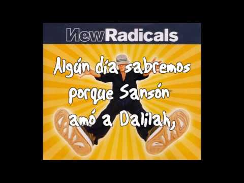 New Radicals Someday we´ll know Subtitulada