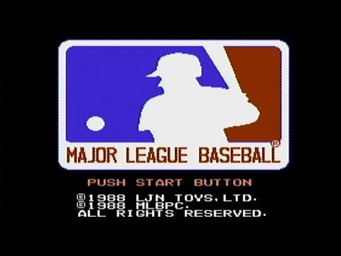 Major League Baseball - NES Gameplay