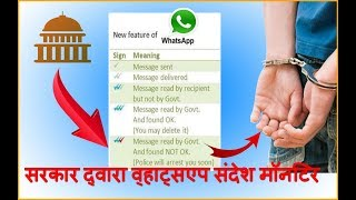 WhatsApp Monitor Government L Be Careful