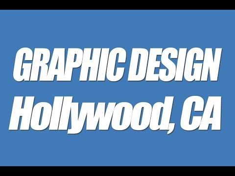 Hollywood CA Graphic design professional local business web graphics Logos headers banners 90069 900