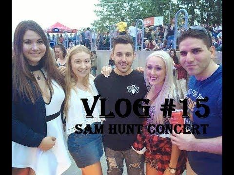 VLOG #15: Sam Hunt's Concert :D
