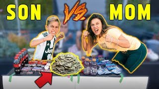 WHO CAN MAKE The MOST MONEY In 24 Hours Challenge *SON VS MOM* | The Royalty Family