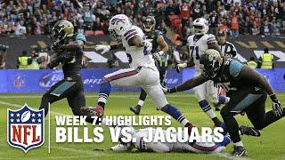Bills vs. Jaguars | Week 7 Highlights | NFL