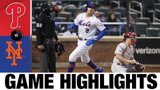 Phillies vs. Mets Game Highlights (4/14/21) | MLB Highlights