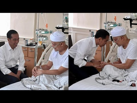 Presiden Jokowi Jenguk Ustaz Arifin Ilham yang Dirawat di RSCM Kencana Mp3