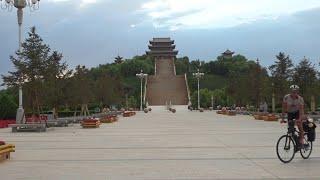 Secret Far Western Great Wall of China Drone Footage