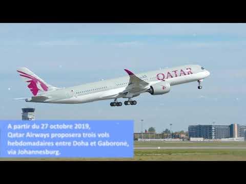Qatar Airways ajoute le Botswana à son réseau