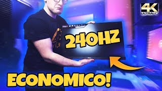 IL MONITOR 240HZ DA GAMING PIU ECONOMICO DI AMAZON!