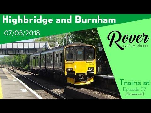 Trains at Highbridge & Burnham, GWML - 7/5/18
