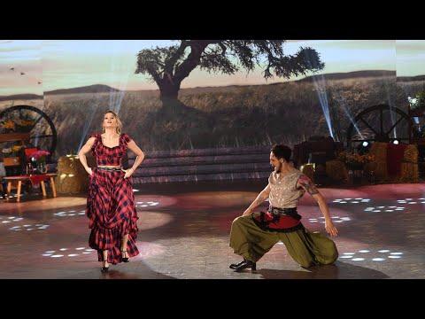 Mica Viciconte no logró una buena performance en el Folklore