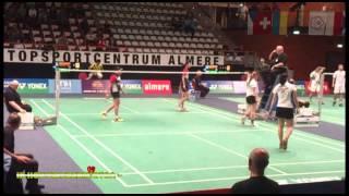 Dutch Open 2014: WD Barning / Tabeling vs. Widjaja / Awanda