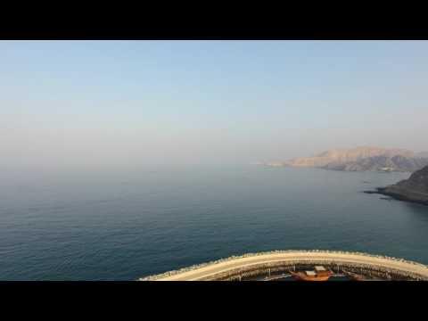 MBAR  - Muscat, Oman. Reverse drone into marina