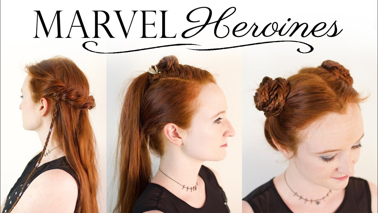 Heroines Of Marvel Hair Tutorial Gamora Valkyrie