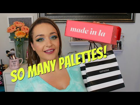 June Makeup Haul: Sephora Colourpop Boxycharm Pat McGrath Kaleidos Huda Neon thumbnail