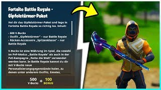 Fortnite Summit Stormer Pack is worth over 2100 V-Bucks! | The new Starter Pack!