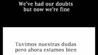 James Blunt - Goodbye My Lover - Lyrics Inglés y Español