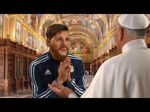 Messi le pide un milagro al Papa by Bossi