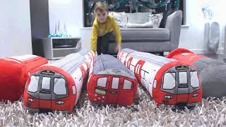 London Underground 3D Tube Train Plush Toys | High Resolution Design