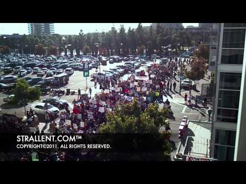 """""""Occupy Wall Street"""" San Diego PROTEST (October 7, 2011) HD720p"""