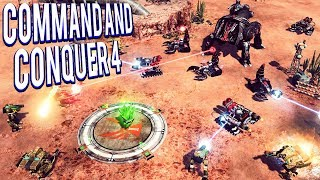 THE BEST RTS EVER! NOD RETURNS  - COMMAND AND CONQUER 4 MULTIPLAYER