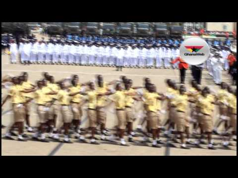 Accra Academy, Kinbu, others at Ghana@60 parade