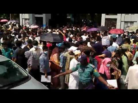 ভর্তিচ্ছুদের পদচারণায় মুখরিত হলো ঢাকা বিশ্ববিদ্যালয়