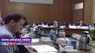 جامعة بنها تستقبل وفداً من أكاديمية العلوم الصينية.. فيديو وصور
