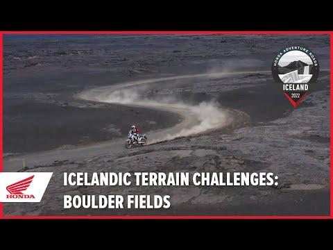 Icelandic Terrain Challenges: Boulder Fields