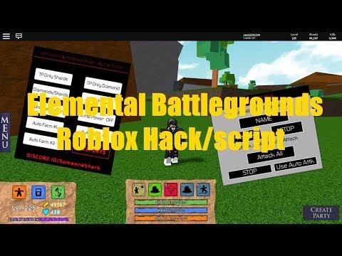 ✔️Si Funciona✔️ Elemental Battlegrounds - Roblox Hack/Script