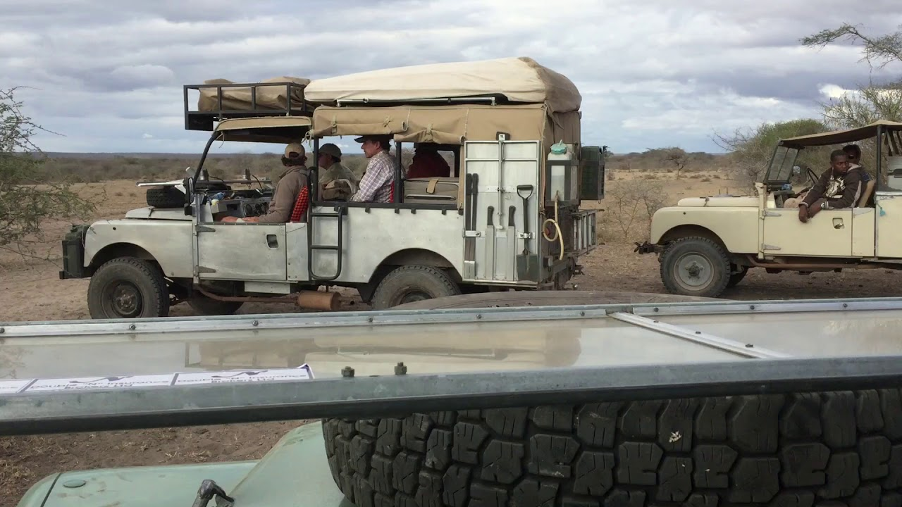 Tanzanian Series 1 Land Rover Safari Youtube