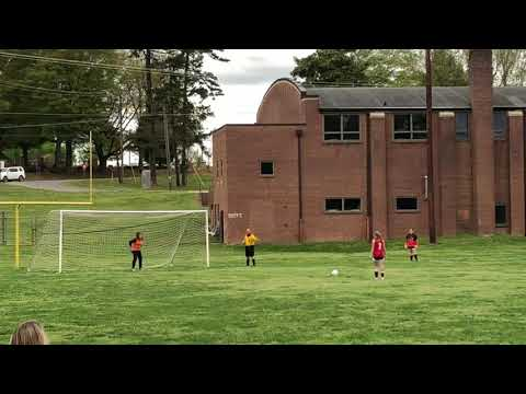 Mount Holly Middle School girls soccer