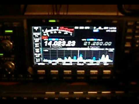 ICOM IC-7600 CW FILTERS & APF FUNCTION