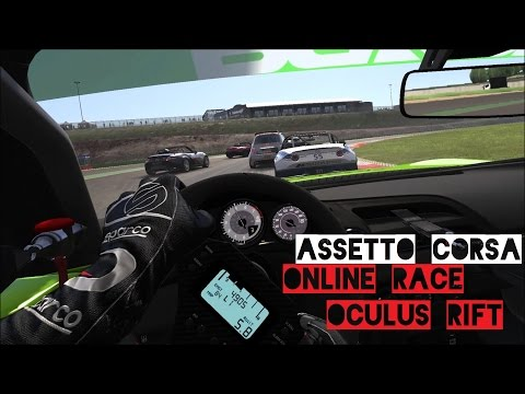 VR [Oculus Rift] Public Online Race | MX-5 Cup and 500 Abarth - Assetto Corsa Gameplay
