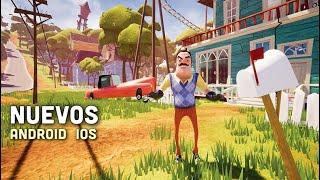 Top 10 Juegos Nuevos para Android & iOS 2018 (Offline/Online) | ¡¡Hello Neighbour Mobile!!