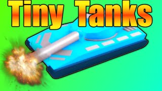[ROBLOX: Tiny Tanks] - Let's Play Ep1 - Too Many Bullets!