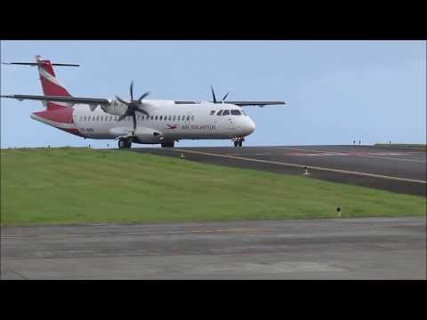 Flight Report|Rodrigues-Mauritius| Air Mauritius ATR 72-500