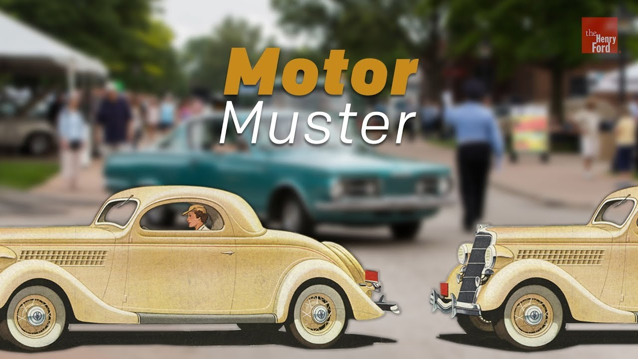 Motor Muster Vintage Auto Show At The Henry Ford YouTube - Henry ford car show