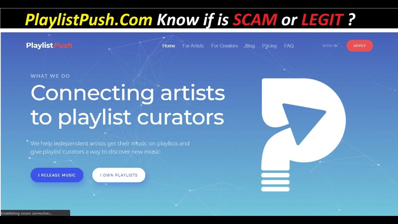 Playlist Push  PlaylistPush.com   Know the Full Deatils Here ...