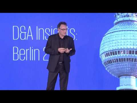 Futurist Keynote Speaker Gerd Leonhard at KPMG D&A Insights Event in Berlin