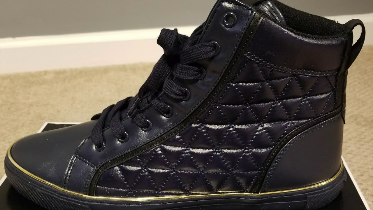 Guess Melo 2 Hi Sneakers - YouTube