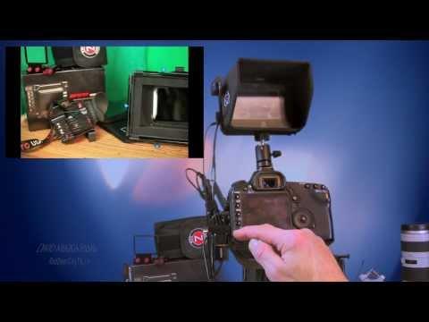 MLV+5D Mark ii With Ninja HDMI Hard Drive Recorder - YouTube