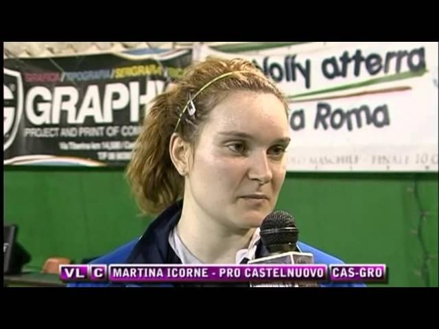 Interviste - Pro Castelnuovo vs Grottaferrata