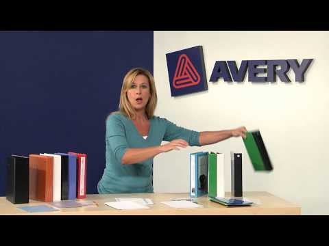 Stay Organized On The Go With Avery® Mini Organization Products