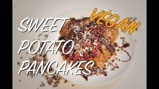 Vegan Sweet Potato Pancakes - Fitness and Health