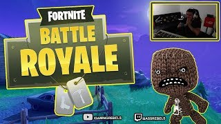 Fortnite avec la peau - Andy Battle Royale Gameplay LIVE
