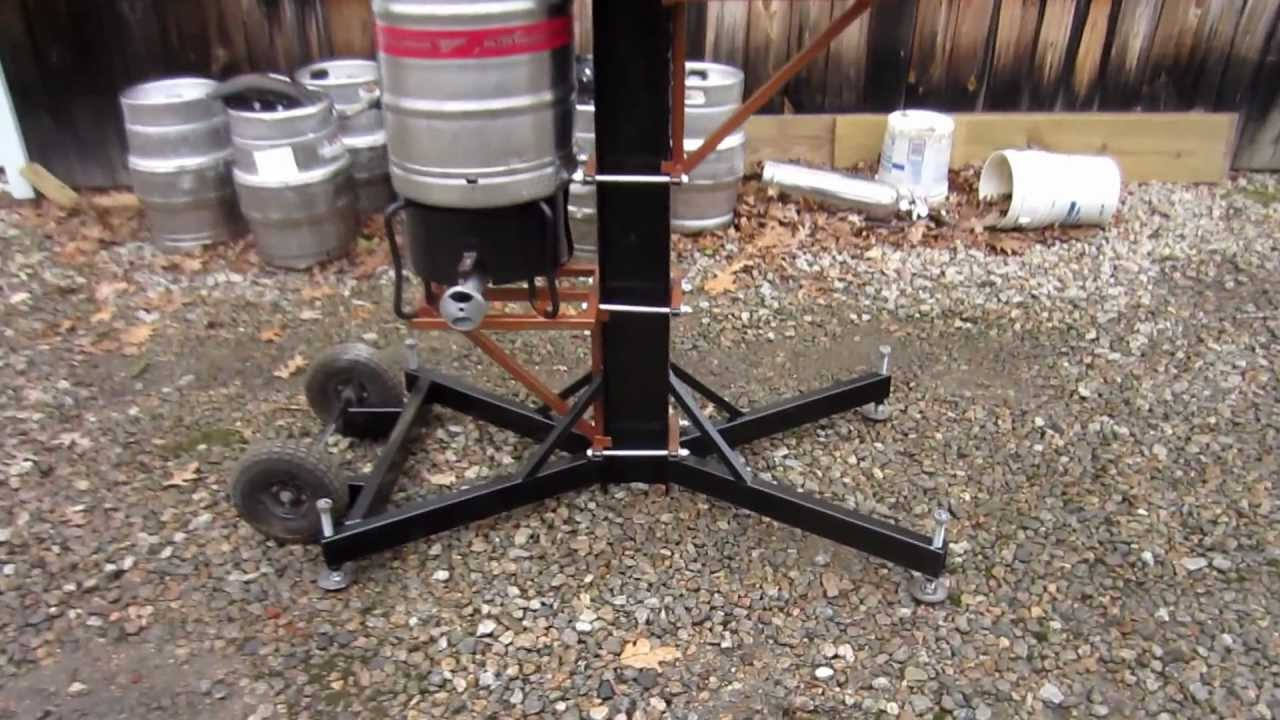 3 Tier Gravity Feed Brew Sculpture Youtube