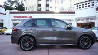 2013 Porsche Cayenne GTS Umbe Luxor Beige leather Alcantara Beverly Hills @porscheconnection