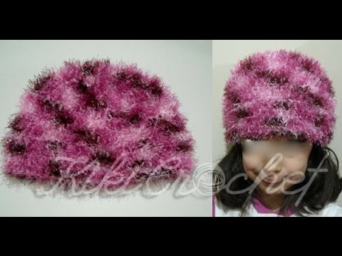 Crochet Furry Hat
