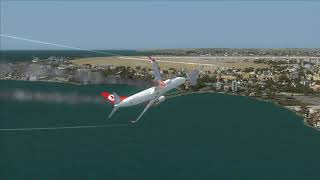 TURKISH 737-800 crash at Istanbul Airport