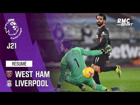 Résumé : West Ham 1-3 Liverpool – Premier League (J21)